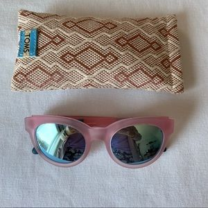TOMS Florentin Sunglasses in Pink